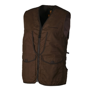 Image of Browning Field Vest - Brown