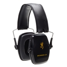 Image of Browning Light & Compact Ear Defenders - Black