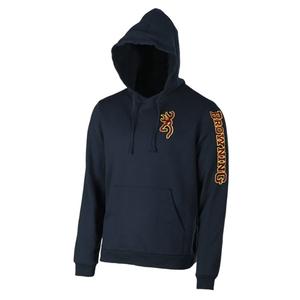 Image of Browning Snapshot Sweatshirt Hoodie - Blue
