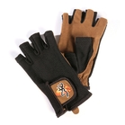 Image of Browning Mesh Back Clay Shooting Mitten - Tan / Black