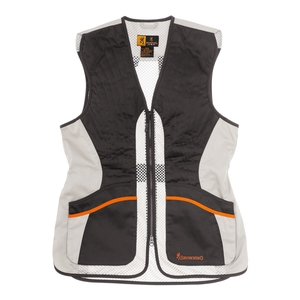 Image of Browning Ultra Lady Shooting Vest - Black/White