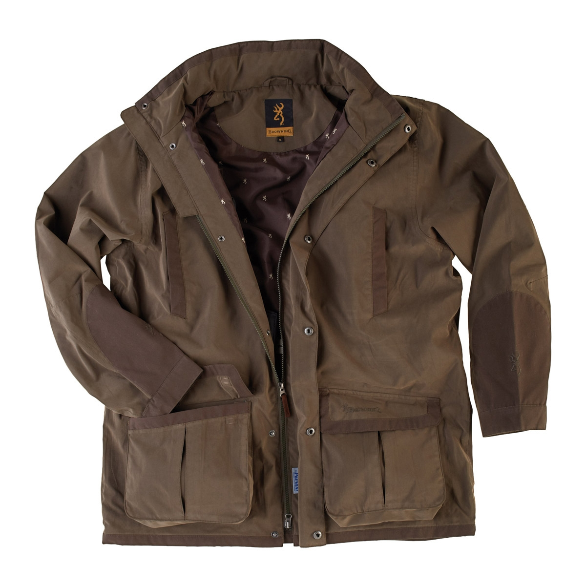 683117d6f7a68 Browning Upland Hunter 2 Parka Jacket - Green | Uttings.co.uk