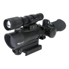Image of BSA Tactical Weapon Red Dot Sight with Flashlight & Laser