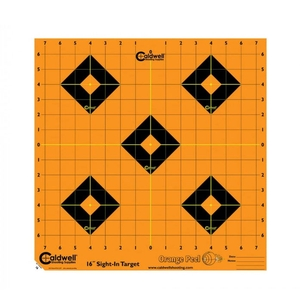 Image of Caldwell Orange Peel Sight-In Target - 16 Inch - 12 Sheets