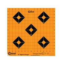 Caldwell Orange Peel Sight-In Target - 16 Inch - 12 Sheets