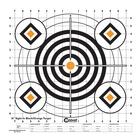 Caldwell Sight In Target - 16 Inch - Black/Orange - 10pk