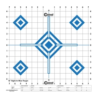 Caldwell Sight In Target - 16 Inch - Hi Contrast Blue - 10pk