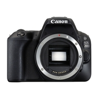 Canon 200D 24.2MP SLR Camera - Body Only