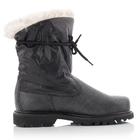 Image of CAT Bruiser Scrunch Fur Boots (Women's) - Black / Silver