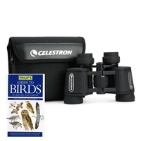 Celestron UpClose G2 7x35 Porro Birder Kit With Binoculars & Guide To Birds Book