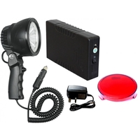 Clulite Lazerlite 25W LED Handheld Lamp Package -  12V 4.4 Li-ion & Charger
