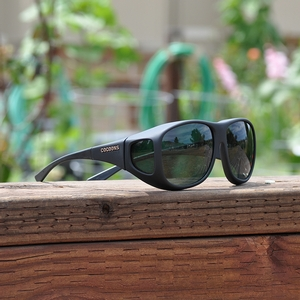 Image of Cocoons Pilot Polarized Sunglasses - Black Frame / Grey Lens
