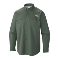 Columbia PFG Blood and Guts III Long Sleeved Woven Shirt