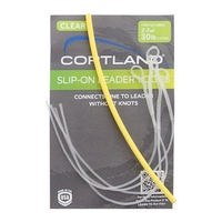 Cortland Slip-On Leader Loops - 4 Pack