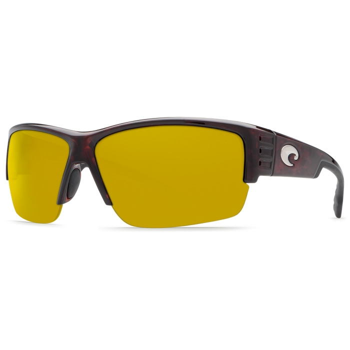 cd268591af5 Image of Costa Del Mar Hatch Polarized Sunglasses - Tortoise Frame Sunrise  580P Lens