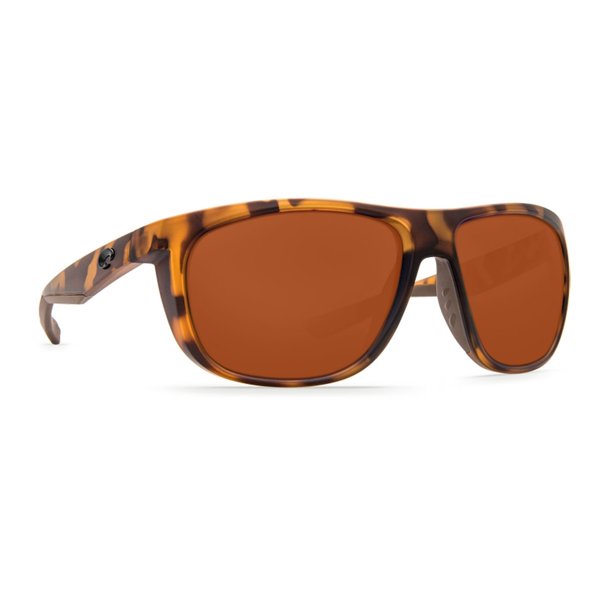 bdfb09027f7 Image of Costa Del Mar Kiwa Retro Sunglasses - Tortoise Frame   Copper P  Lens