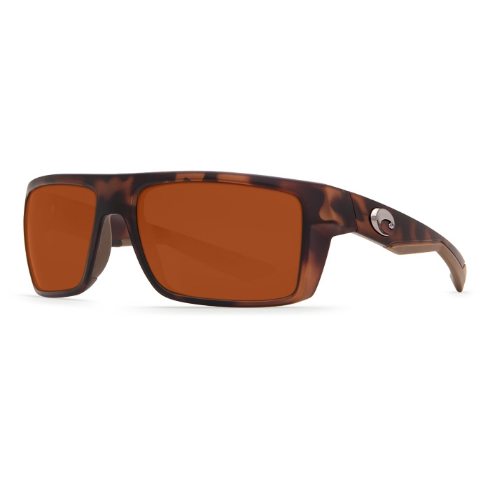 6e7ae58cf80 Image of Costa Del Mar Motu Polarized Sunglasses - Matte Retro Tortoise  Frames   Copper 580P