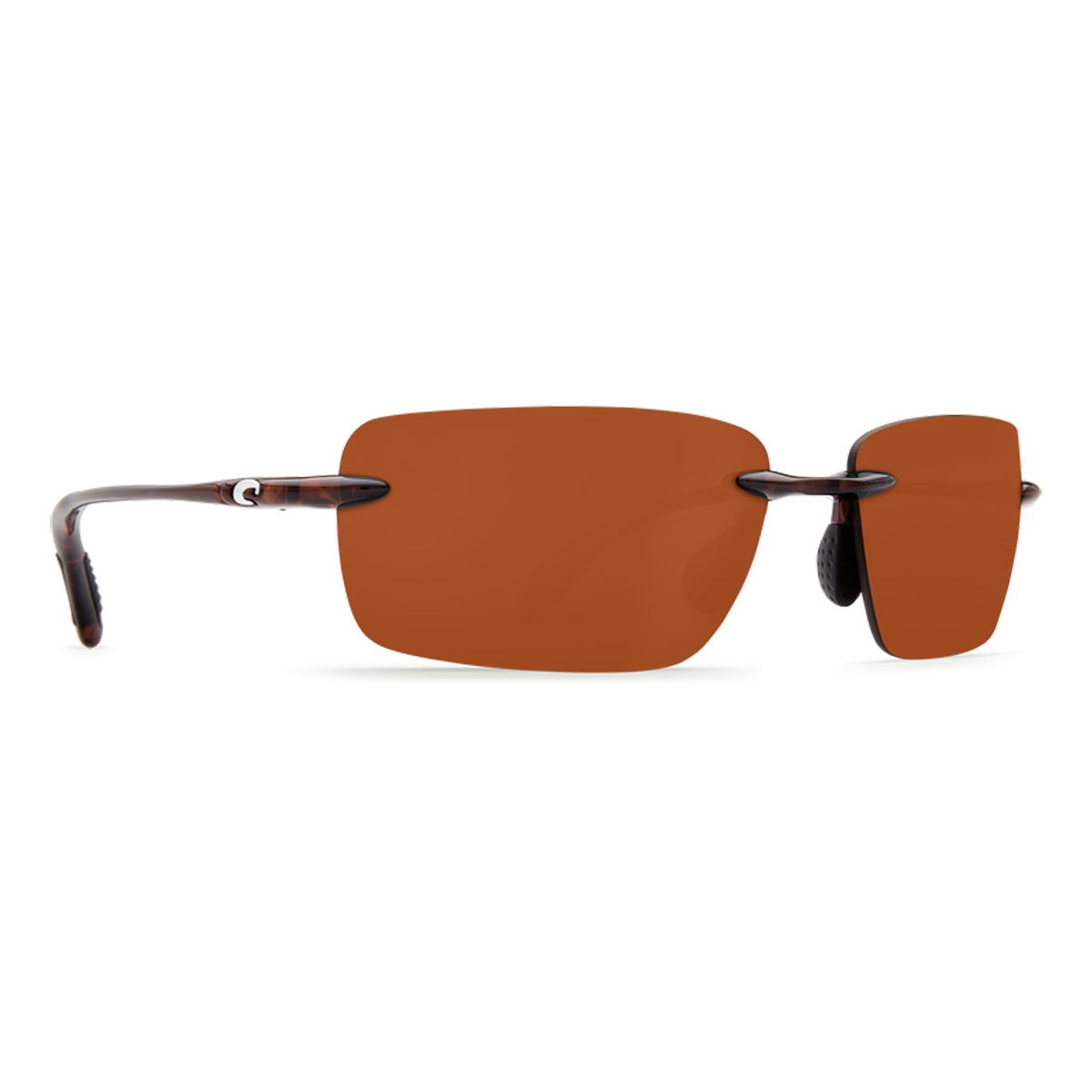 be04f1cecbb Image of Costa Del Mar Oyster Bay Sunglasses - Tortoise Frame   Copper P  Lens