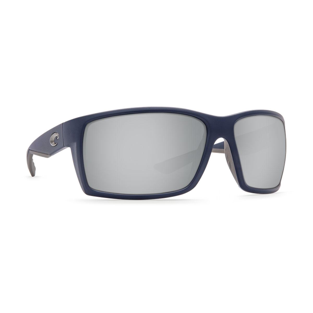 85053b08f1b Image of Costa Del Mar Reefton Sunglasses - Blue Frame - Silver 580P Lens