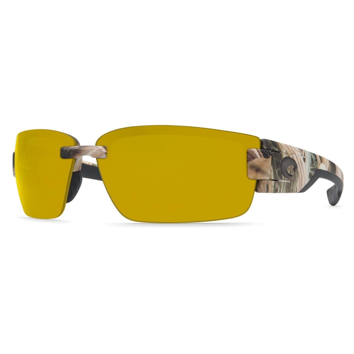 609ac6a579df9 Image of Costa Del Mar Rockport Polarized Sunglasses - Mossy Oak SGB Frame Sunrise  580P