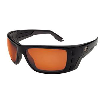 1ad08782c3 Image of Costa Del Mar Permit Polarised Sunglasses - Black (Frame) Copper  Glass