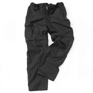 Image of Craghoppers Kiwi Convertible Trousers - Black