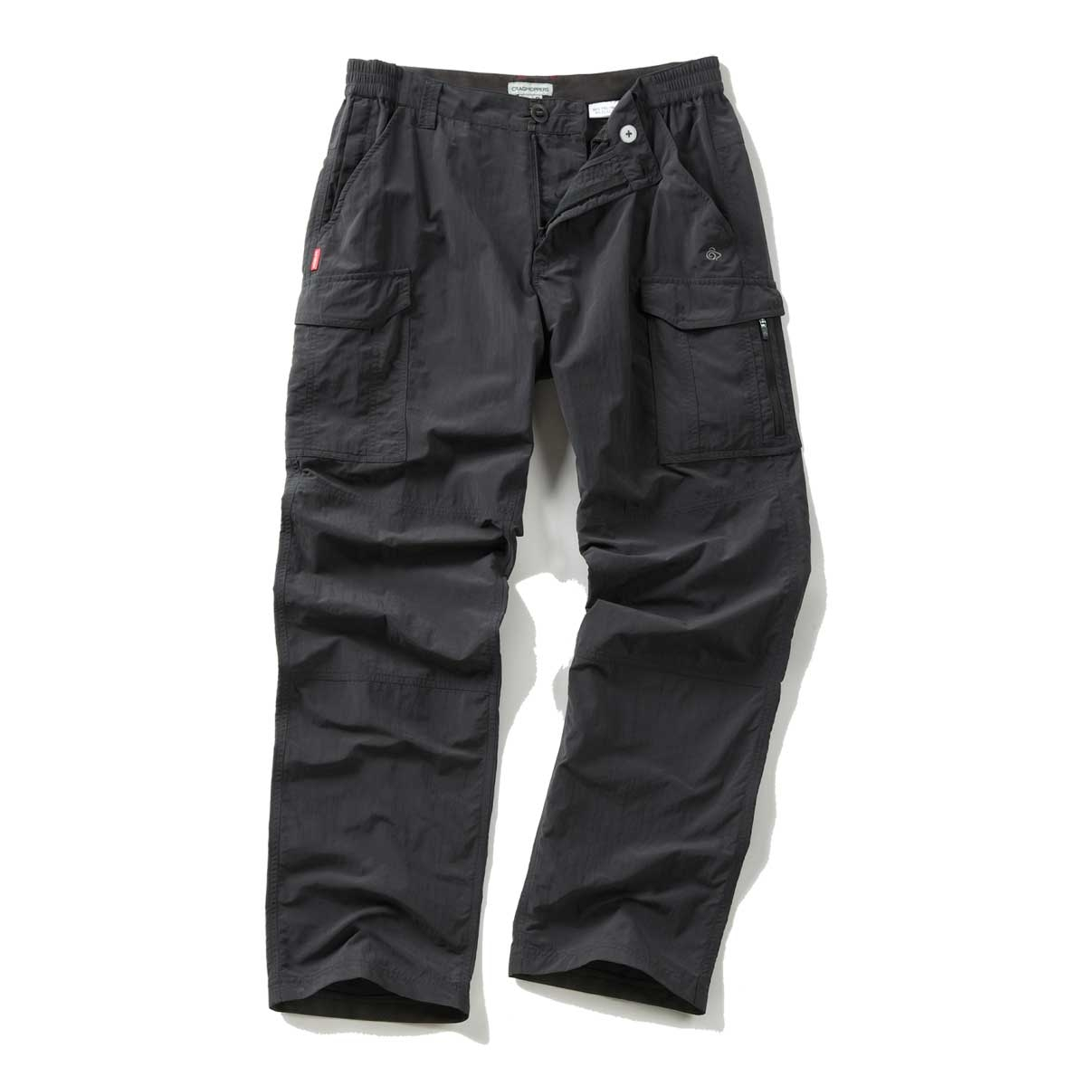 Image of Craghoppers NosiLife Cargo Trousers - Black Pepper 2bf0bde76