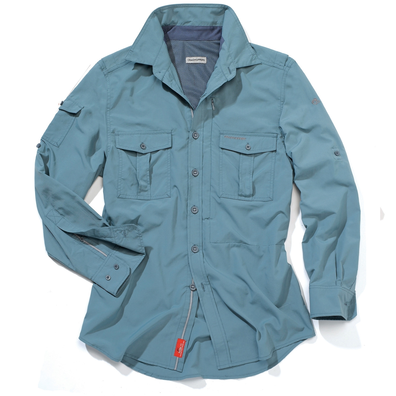 Image of Craghoppers NosiLife Long-Sleeve Shirt - Vapour Blue 58c305fcfba4