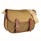 Image of Croots Dalby Netted Carryall - Khaki