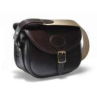 Croots Malton Bridle Leather Cartridge Bag - 100