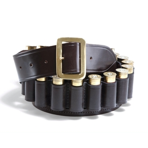 Image of Croots Malton Bridle Leather Cartridge Belt - 20g