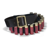 Croots Malton Bridle Leather Quick Release Cartridge Belt - 12g