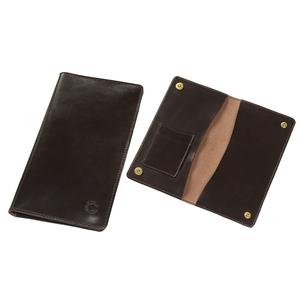 Image of Croots Malton Leather Certificate Wallet - Dark Havana