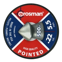 Crosman Pointed .22 Pellets x 500