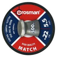 Crosman Match .22 Pellets x 500