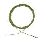 Cutthroat Short Rod Dry Fly Furled Leader with Tippet Ring - 50in