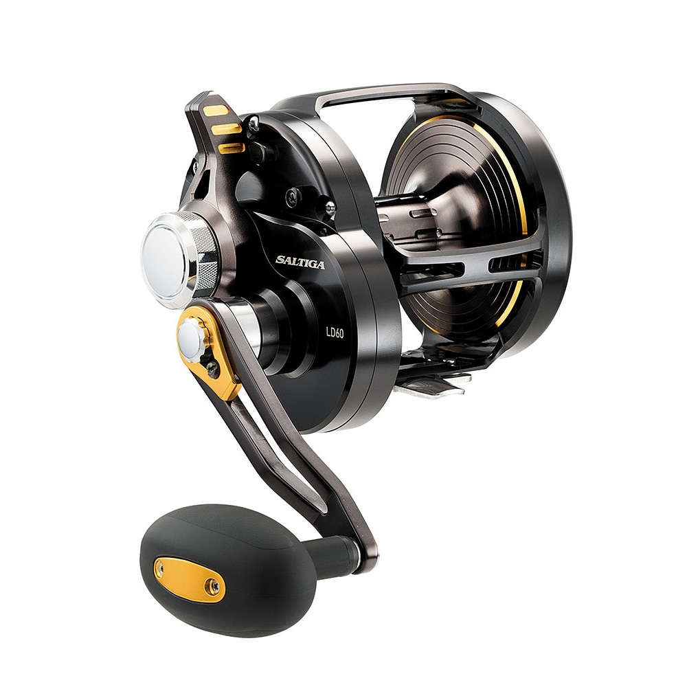Daiwa 16 Saltiga 60ld Dog Fight Saltwater Multiplier Reel Uttings Rel Image Of