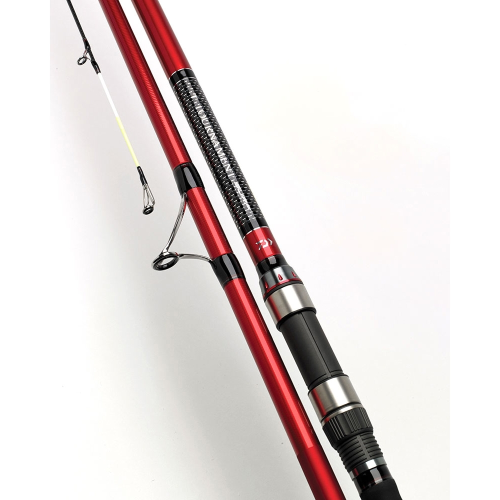 Daiwa 3 Piece Tournament Surf Rod 14ft 6oz Fixed Spool Rings Image Of