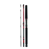 Daiwa 4 Piece Tournament Travel Boat Rod - 6ft 6in - 30-60lb