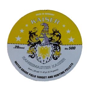 Image of Daystate Rangemaster Kaiser .20 Pellets x 500