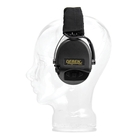 Sordin Supreme Pro X Hearing Protectors - Black Headband