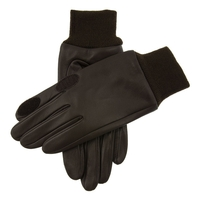 Dents Speyside Fleece Lined Weather Resistant Leather Shooting Gloves