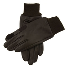 Image of Dents Speyside Fleece Lined Weather Resistant Leather Shooting Gloves - Brown