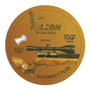 Image of Falcon Accuracy Plus .22 (5.52) Pellets x 500