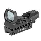 Enfield 1x22x33 Red/Green Dot Sight - 11mm Dovetail