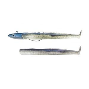 Image of Fiiish Black Eel 150 15cm Combo Off Shore - 40g - Electric Blue + Electric Blue Body