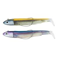 Fiiish Black Minnow 120 12cm Double Combo Off Shore - 25g - Gold/Blue + Rattle - Rainbow + Rattle
