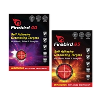 Firebird Self Adhesive Detonating Targets for Pistols, Rifles & Shotguns