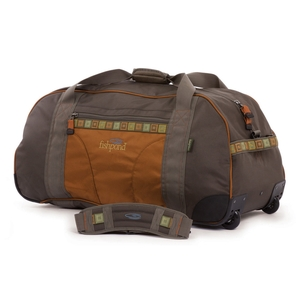 Image of Fishpond Bumpy Road Rolling Cargo Duffel - Large - Stone