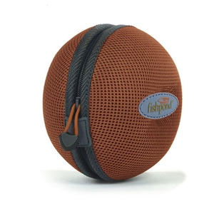 Image of Fishpond Kodiac Moulded Reel Case - 4.5 inch - Rust
